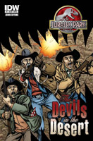 IDW Comics - Jurassic Park: Devils In the Desert