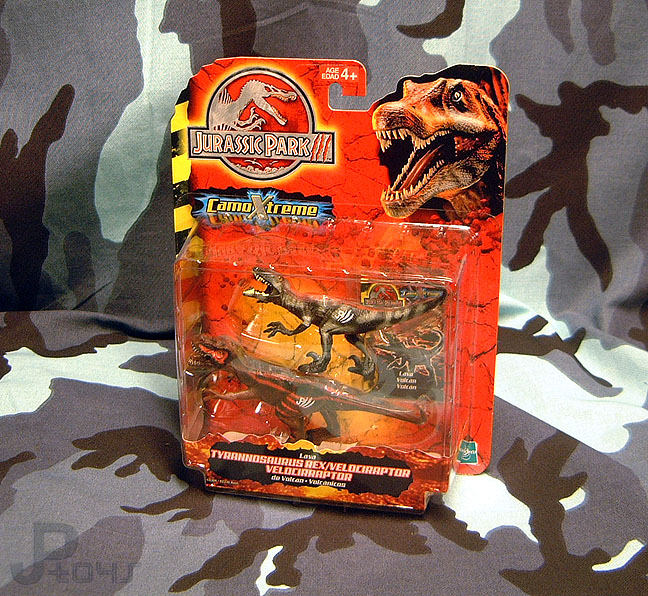 Jurassic Park 3 Velociraptor Toy Jurassic Park /...