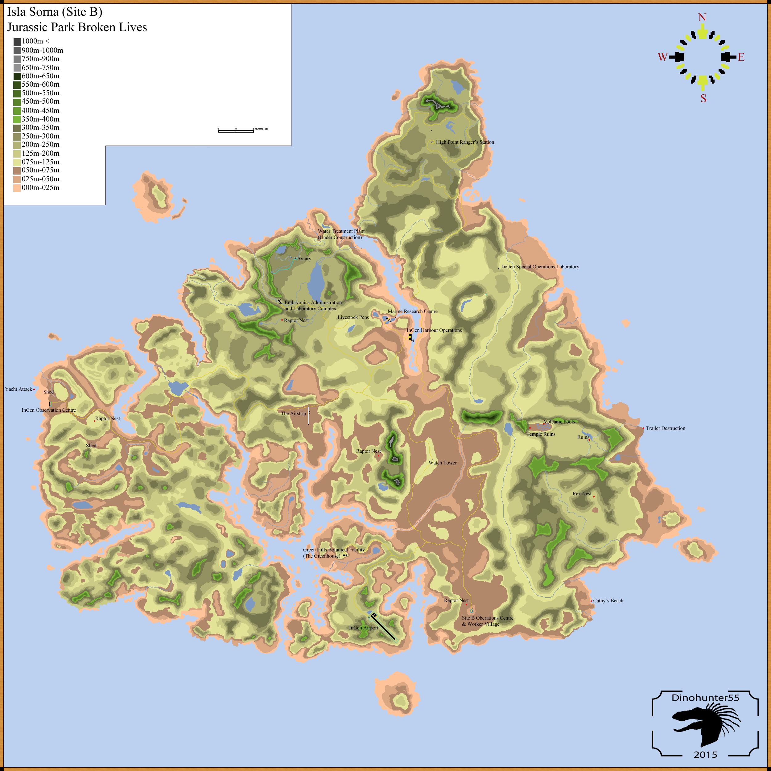 Tlw Jp3 Isla Sorna Map