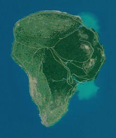 on isla nublar map